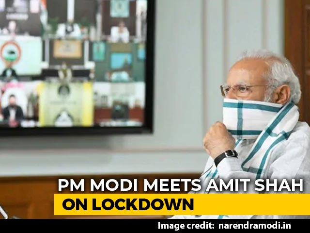 Video : PM, Amit Shah Discuss Lockdown Strategy Amid Rising Coronavirus Cases