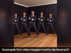 """I Think I've Got You Covered Akshay Kumar"": David Warner Does Famous Bollywood Dance Step"