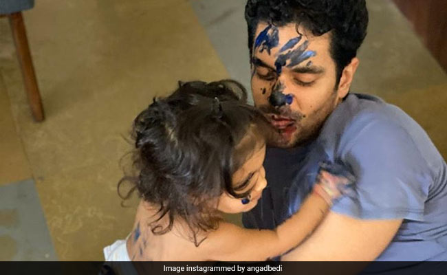 Angad Bedi And Daughter Mehr Are Adorable Together. See Inside