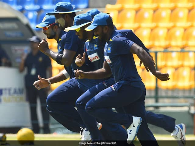Sri Lankan Cricket Team To Resume Outdoor Training
