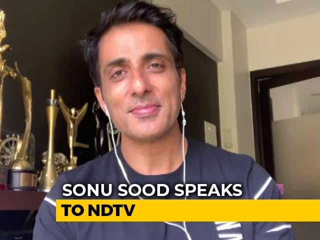 "Video : ""Decided I Can't Watch This Happen"": Actor Sonu Sood On Helping Migrants"