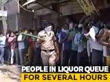 Video : Despite Steep Price Hike In Delhi, Huge Queues At Liquor Shops