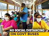 Video : Chennai Transport Body Violates Social Distancing Norms