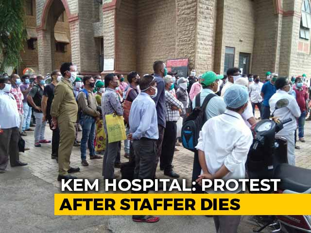 Video : Row Over Death Of Mumbai Hospital Employee Allegedly Denied Sick Leave