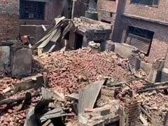 Raging Gunbattle In Srinagar Leaves Trail Of Destruction, Dozens Homeless