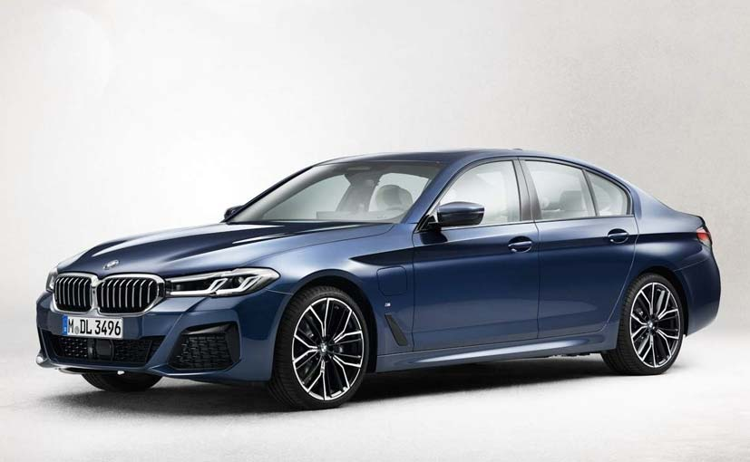 2021 BMW 5 Series Facelift Images Leaked