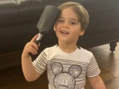 "Karan Johar's Son Yash Combing His Hair To Look ""Fancy"" Is The Cutest Thing You Will See Today"