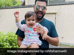 Rohit Sharma Shares Cute Photo Of Daughter Samaira With Her Toys On Instagram