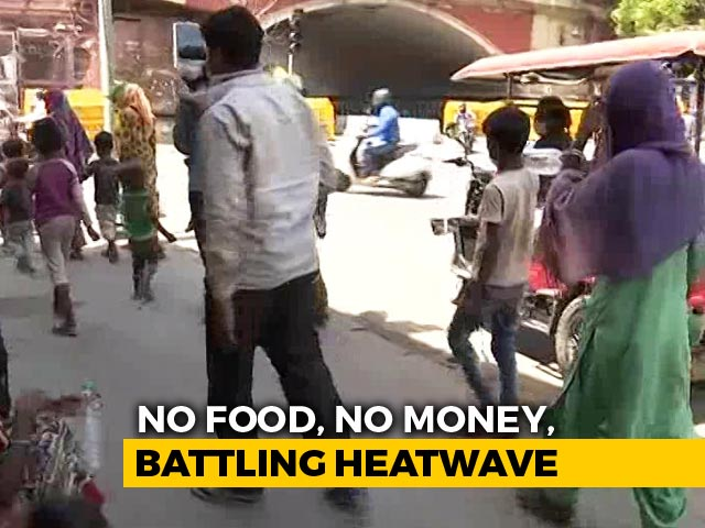 Video : Despite Shramik Trains, Migrant Workers Continue To Walk Home In Searing Heat