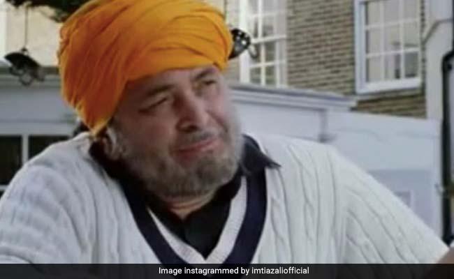 Als Rishi Kapoor bei der Hochzeit von Imtiaz Alis Bruder in Kaschmir tanzte