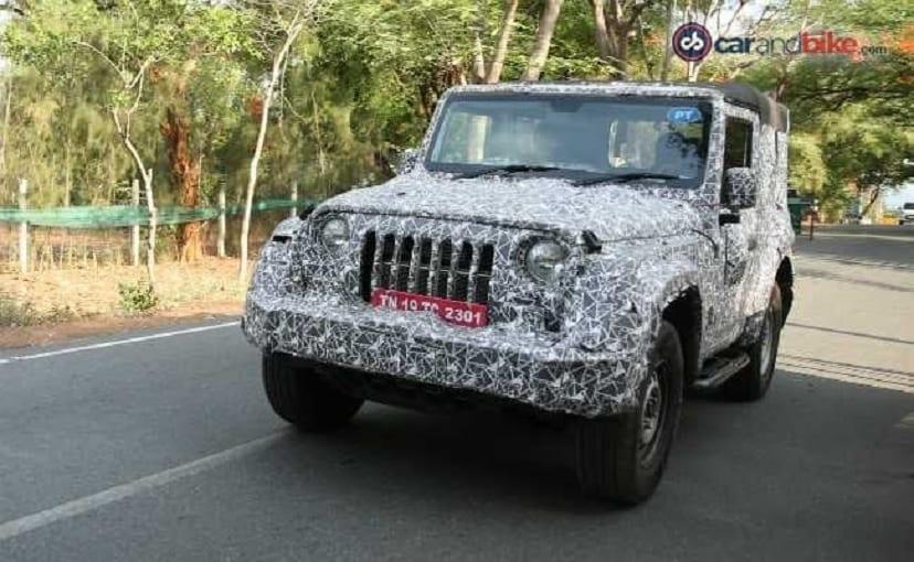 The Mahindra Thar is expected to go on sale in India post October 2020.