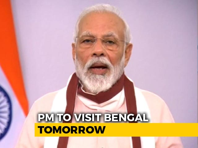Video : PM Modi In Bengal, Odisha Tomorrow For Aerial Survey Of Cyclone Amphan Damage