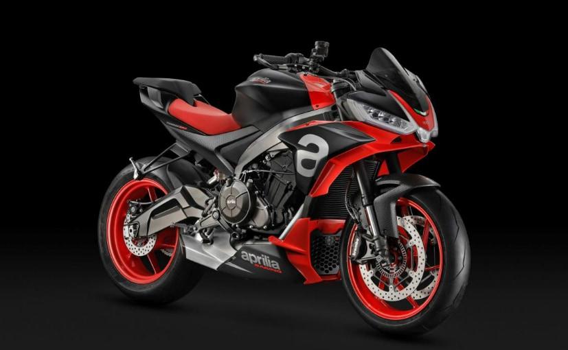 The Aprilia Tuono 660 is the naked version the Aprilia RS660 sports bike