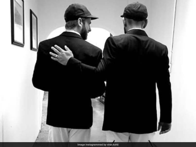 """Virat Kohli Shares Picture With """"Good Man"""" Kane Williamson, Fan Comes Up  With Fitting Caption 