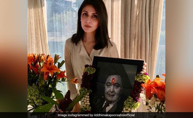 'Love You Always, Papa': Rishi Kapoor's Daughter Riddhima Shares Prayer Meet Pics