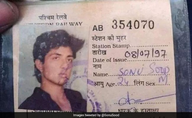 Sonu Sood's Old Mumbai Local Pass Goes Viral; 'Full Circle,' He Tweets