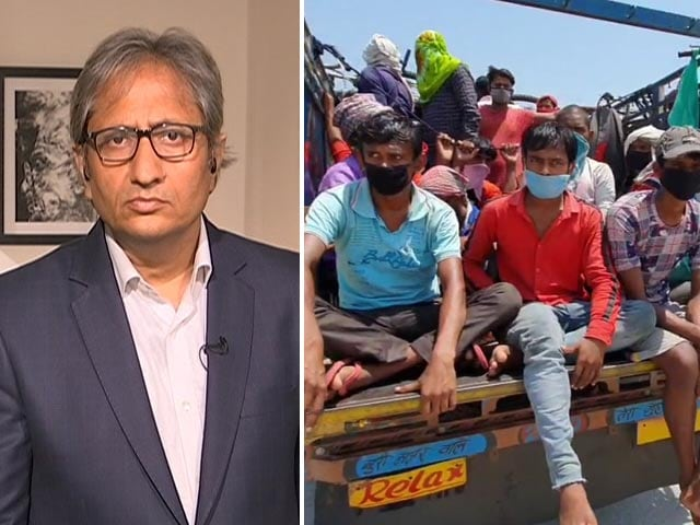 Video : <i>Desh Ki Baat</i> With Ravish Kumar: Migrants' Struggle To Reach Home