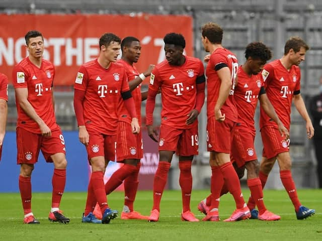 Coronavirus: Bayern Munich Players Accept Salary Cut Until End Of Season