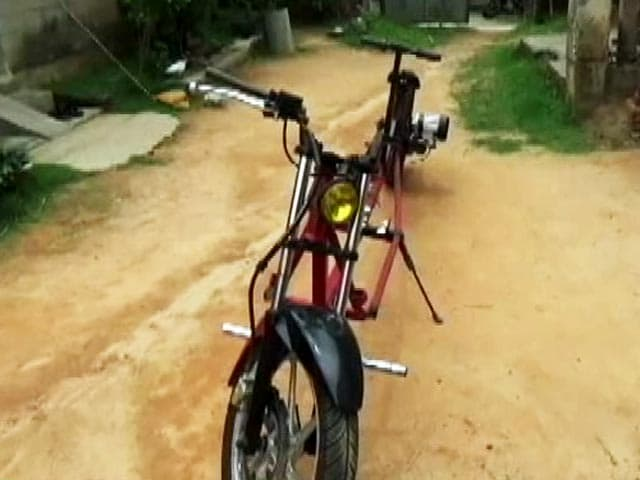 Video: Battery-Operated Bike: Contribution In Fight Against COVID-19