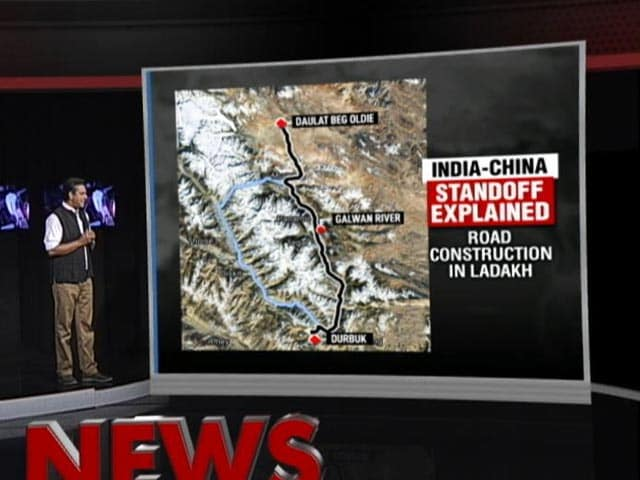 Video : The Ladakh Stand-Off Between India And China Explained In Maps, Pictures