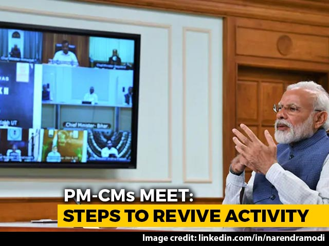 Video : PM To Meet Chief Ministers Today At 3 pm To Discuss Lockdown