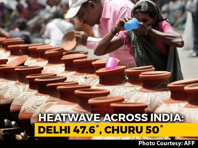 Video : Rajasthan's Churu Sizzles At 50 Degree Celsius Amid Severe Heatwave