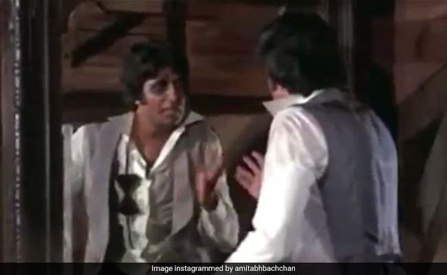 Amitabh Bachchan Shares ROFL Clip From Amar Akbar Anthony, Writes: 'The Show Must Go On'