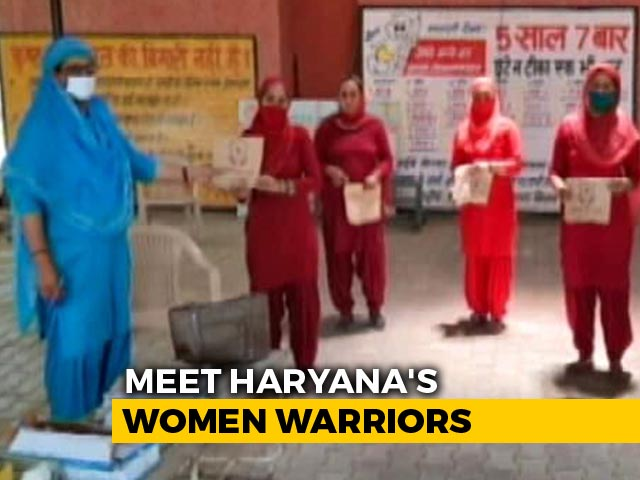 Video : Protecting Haryana's Women Coronavirus Warriors