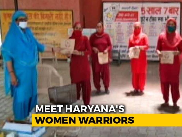 Video: Protecting Haryana's Women Coronavirus Warriors