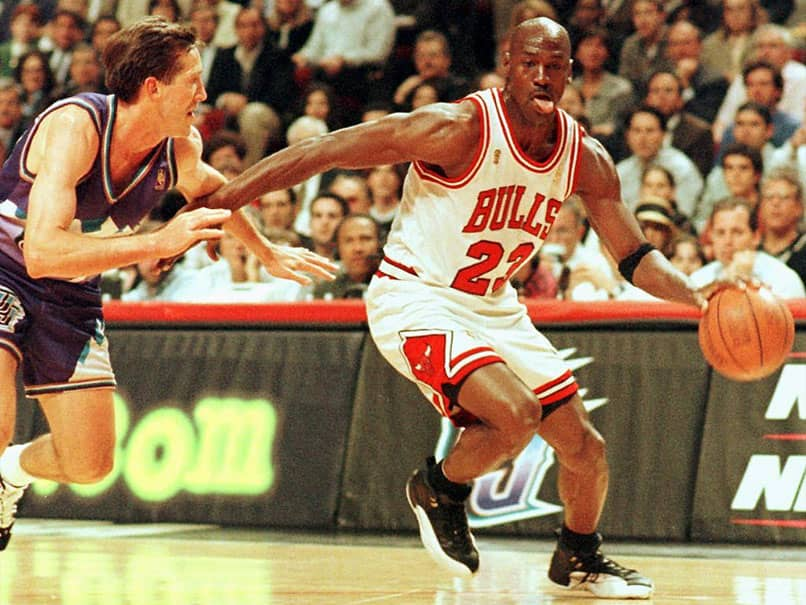 Michael Jordans Game-Worn Sneakers Sell For Record-Breaking $560,000 At Auction