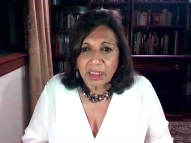 Video : Urban India Needs To Change Its Ways: Kiran Mazumdar Shaw Of Biocon Limited