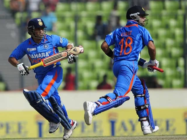 Gautam Gambhir Picks Sachin Tendulkar Over Virat Kohli As Best ODI Batsman