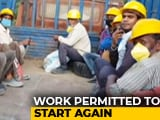 Video : Without Jobs Since A Month, Stranded Migrants Back To Work In Bengaluru