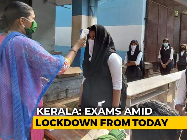 Video : Lakhs Of Kerala School Students To Take Exams From Today Amid Lockdown