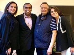 """Neetu Kapoor's Shout-Out To The Ambanis, """"Guardian Angels"""" While Rishi Kapoor Was Ill"""
