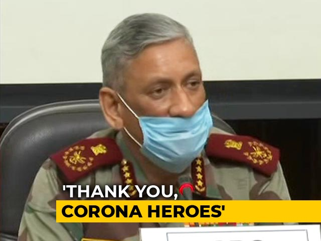 Video : Armed Forces To Conduct Fly Pasts To Thank COVID-19 Warriors On Sunday