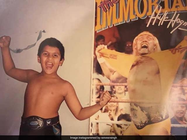 Ranveer Singhs Hulk Hogan Tribute Gets Bollywood Stars Nostalgic