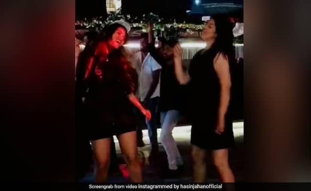 Mohammed Shami wife Hasin Jahan Share dance video on instragram
