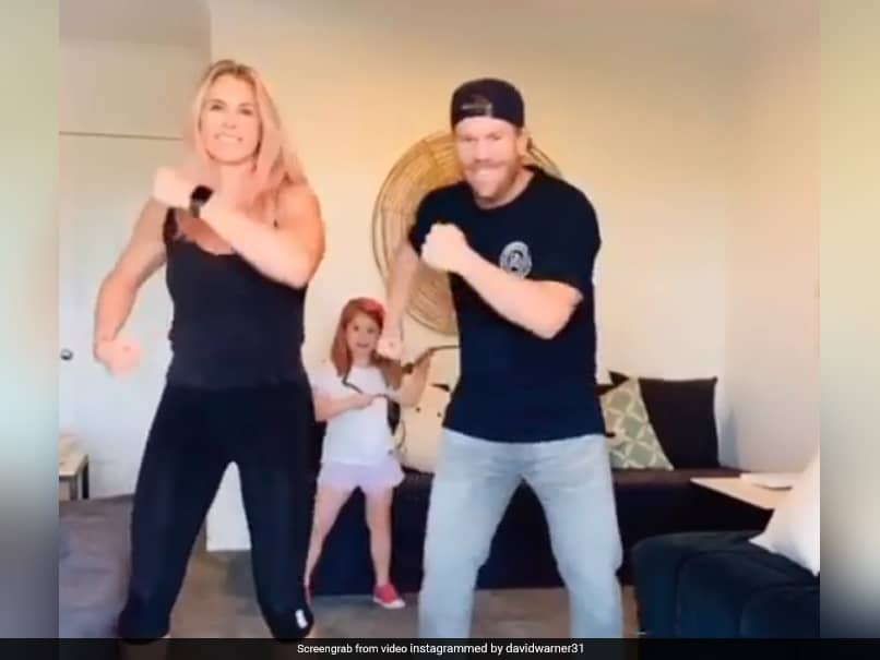 David Warner And His Wife Dance To Prabhu Devas Hit, Asks Fans If They Were Better Than Shilpa Shetty