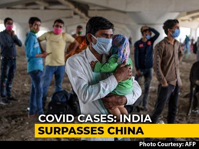 Video : Coronavirus - With 84,712 Cases, India Crosses China's COVID-19 Tally