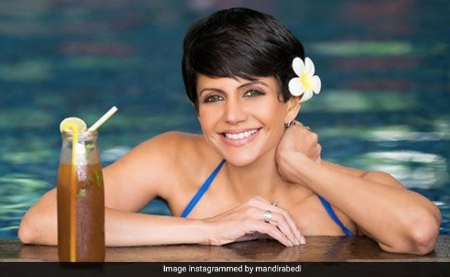 Mandira Bedi Is At Home But Her Happy Place Looks Like This