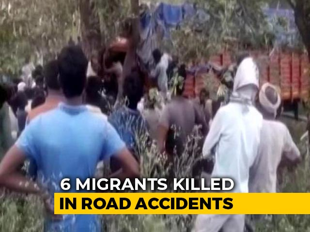 Video : 6 Migrant Workers Killed In 3 Separate Accidents In UP