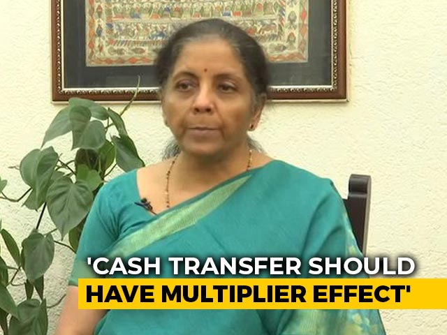 Video : Centre Dealing With Public Money, Not Money-Lender, Says Nirmala Sitharaman