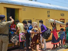 Over 1.38 Lakh Migrants Returned Home On Shramik Trains From Rajasthan: Railways