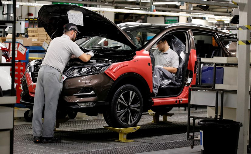 Nissan Plans To Restart Output At UK's Biggest Car Factory In June