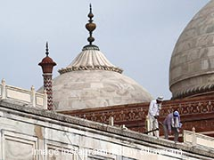Parts Of Taj Mahal Complex Damaged In Thunderstorm, Main Structure Safe