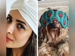 When Malaika And Her Sister Amrita Arora's Pet AXL Were Twinning. Who Copied?