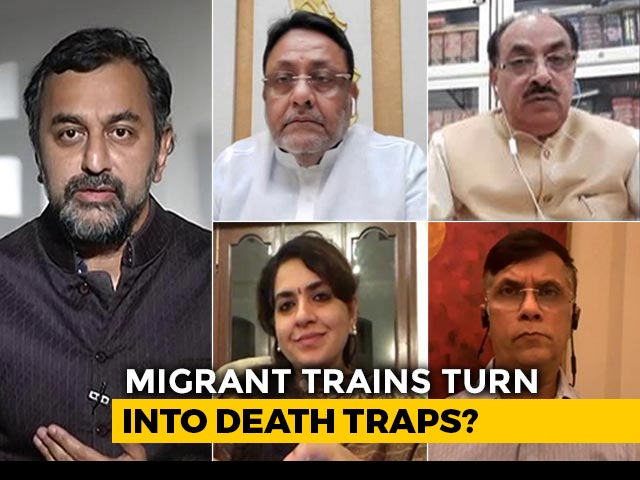 Video : Migrants Being Forced To Pay For 'Shramik' Train Tickets: Maharashtra Minister To NDTV