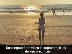 मलाइका अरोड़ा का लॉकडाउन में Video हुआ वायरल, Beach पर यूं डांस करती नजर आईं एक्ट्रेस