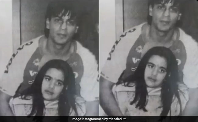 Once Upon A Time, Trishala Dutt Met Shah Rukh Khan. She Doesn't Remember When